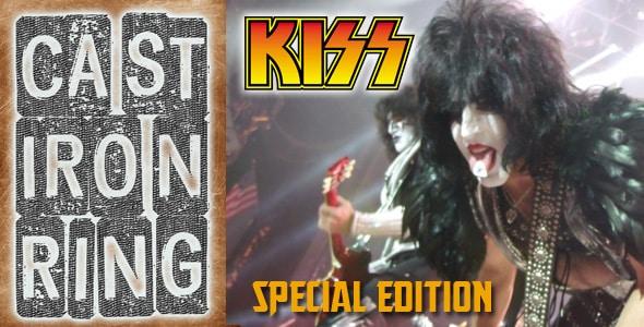 Cast Iron Ring Kiss