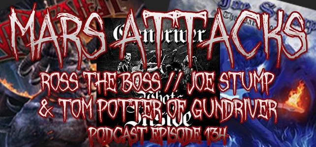 Joe Stump, Ross The Boss and Tom Potter Of Gundriver