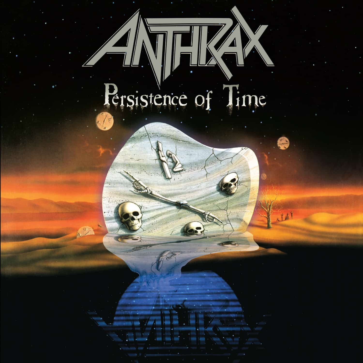 Anthrax Persistence of Time 2020