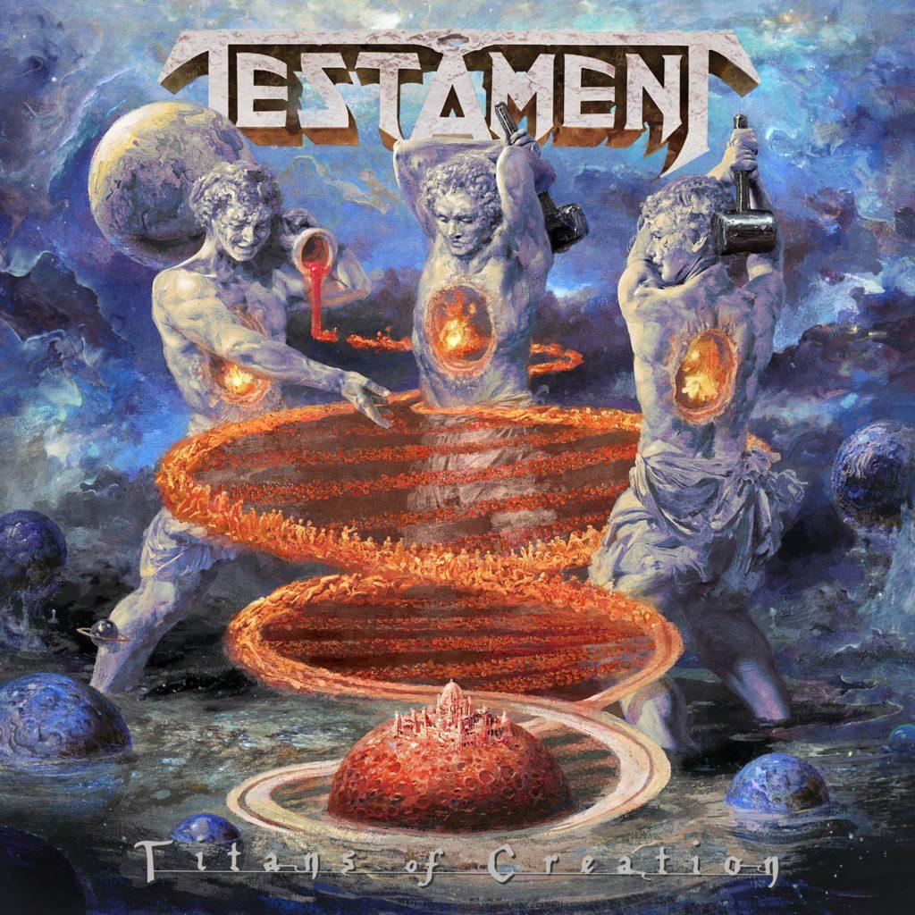 Testament Titans Of Creation