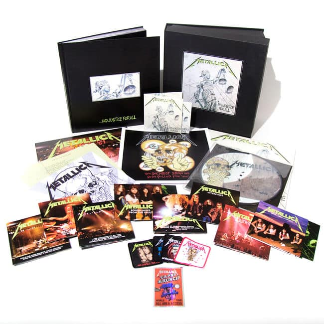Metallica And Justice For All Deluxe Box Set