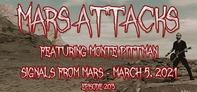 Mars Attacks Podcast Monte Pittman Madonna Prong