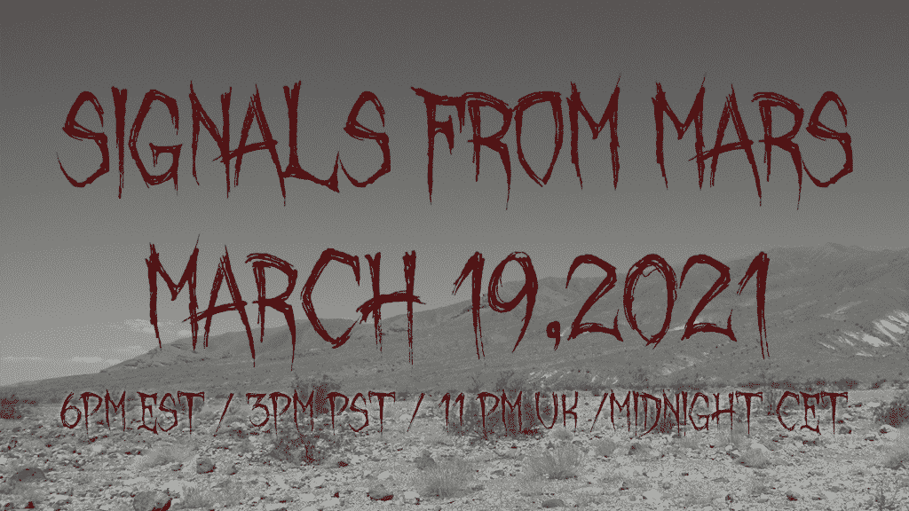 Signals From Mars March 19, 2021 yarg metal