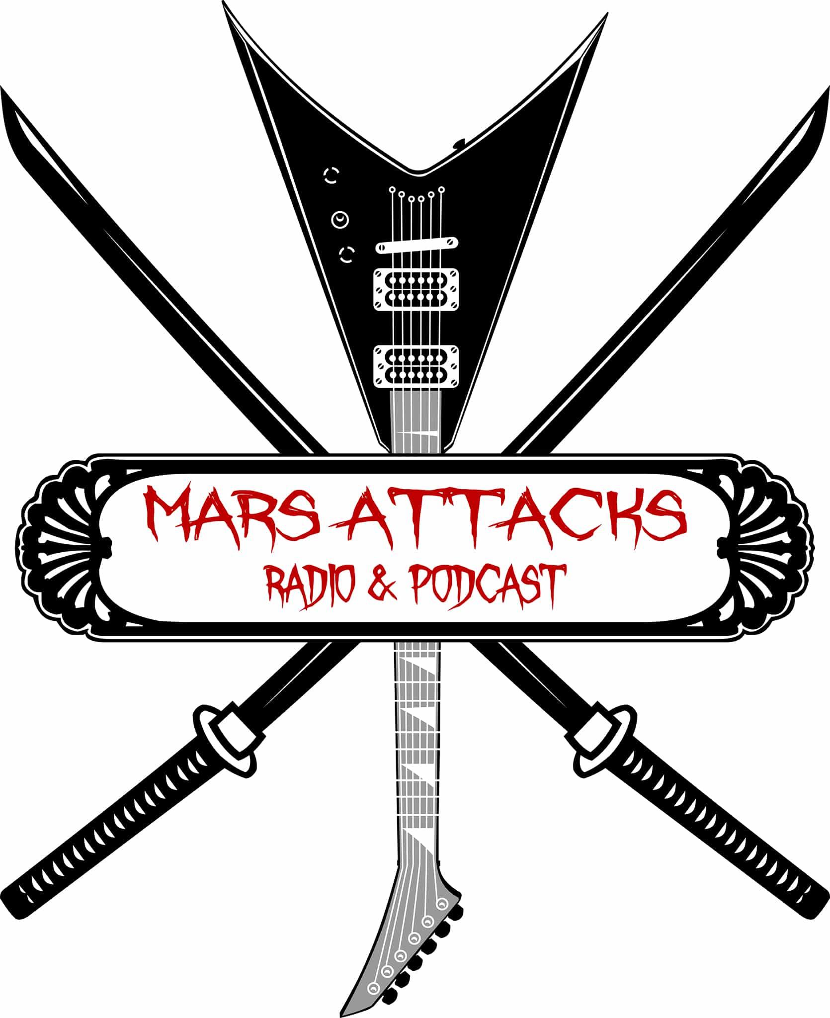 Mars Attacks Podcast Merch