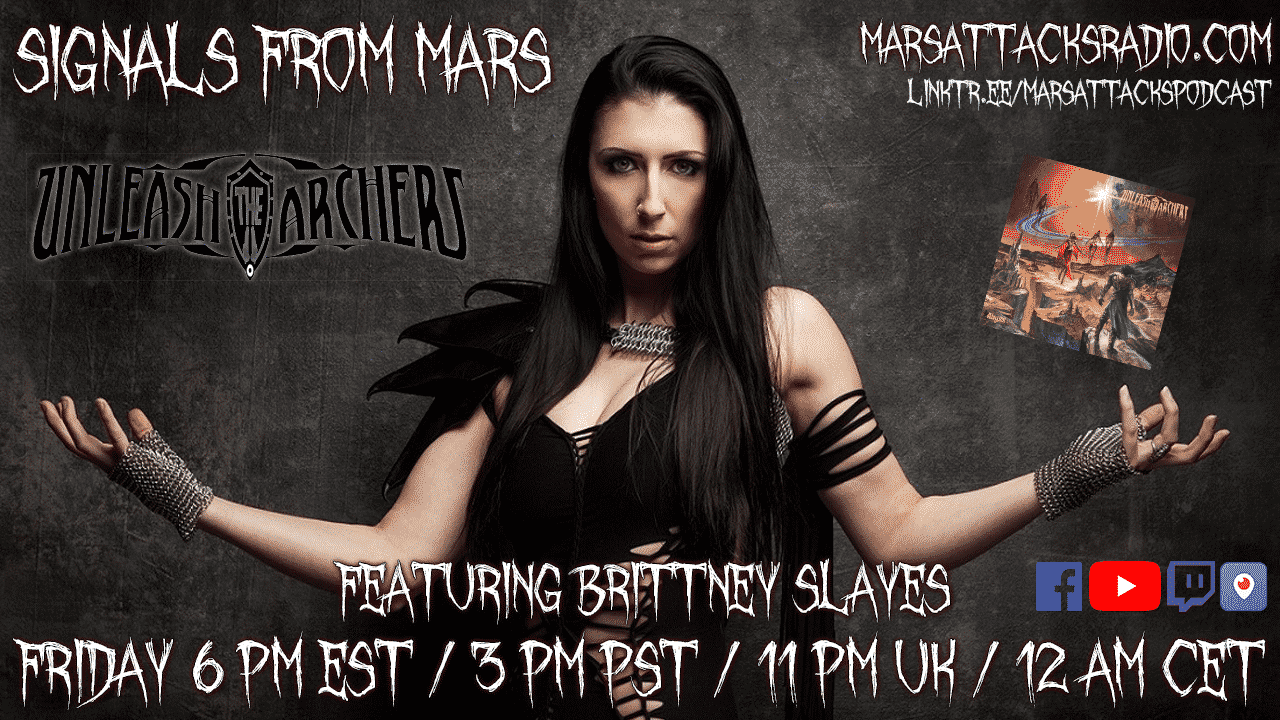 Brittney Slayes Unleash The Archers Signals From Mars Livestream