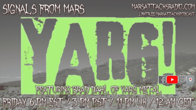 Yarg Metal Signals From Mars July 30, 2021