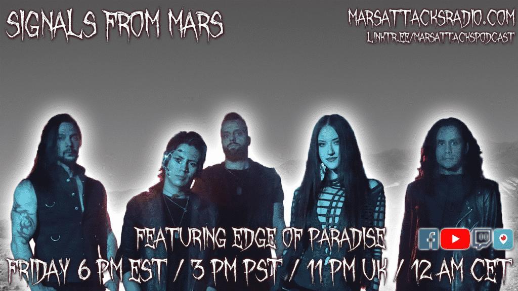 Edge Of Paradise Margarita Monet Signals From Mars Live Stream August 20, 2021