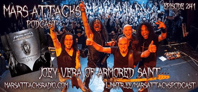 Joey Vera Armored Saint Symbol Of Salvation Live Mars Attacks Podcast Episode 241